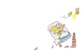 絵本「箱のなかのプレゼント」9ページ目
