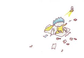 絵本「箱のなかのプレゼント」5ページ目
