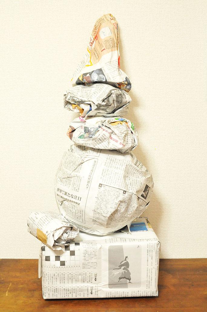 古道具プレゼントの中身は6つの包みが入っている