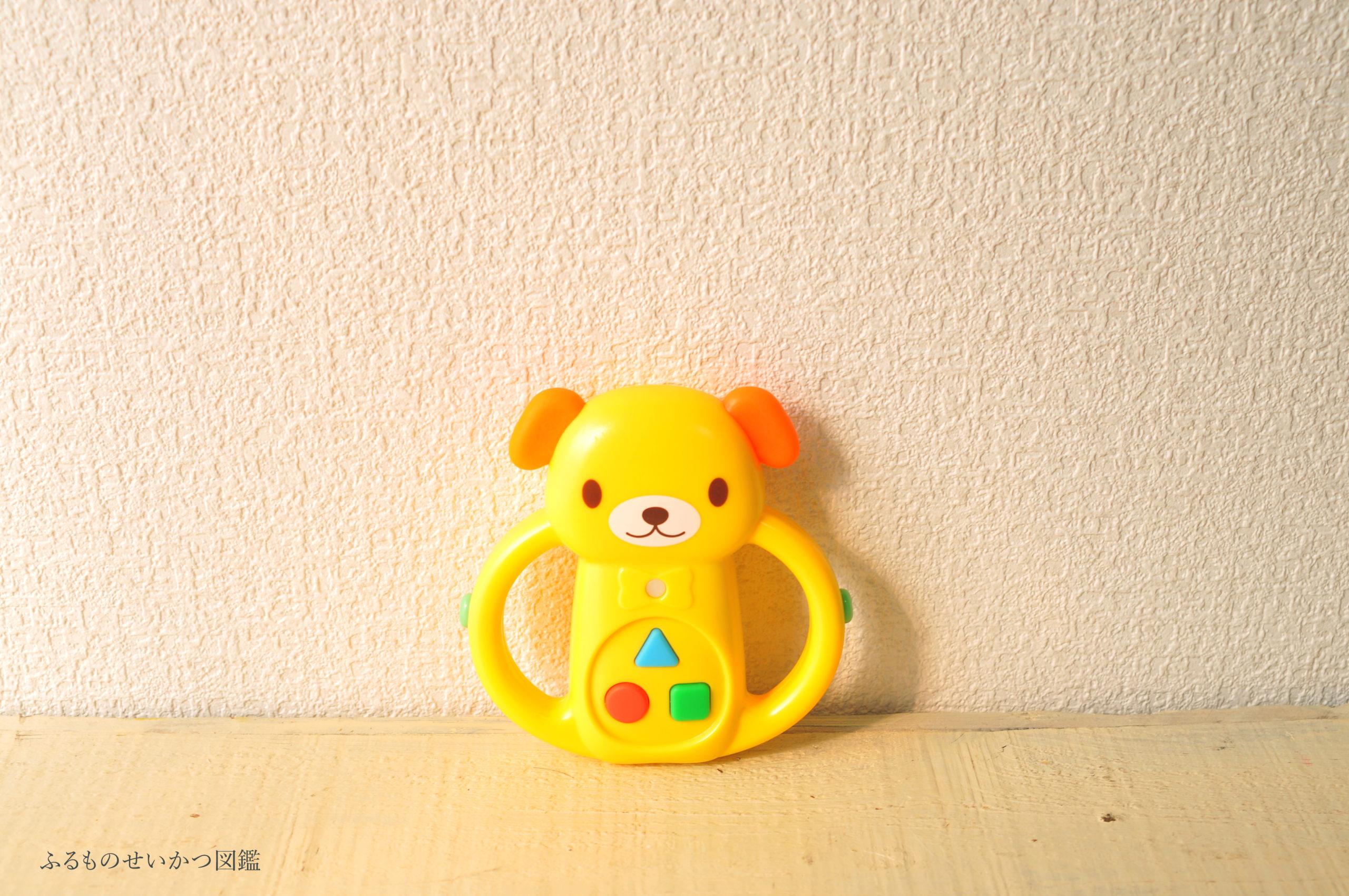 100円で買える赤ちゃん用オモチャは以外と多機能だった!