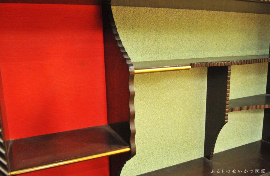 昭和レトロな棚とすべり台【もらいもの生活】