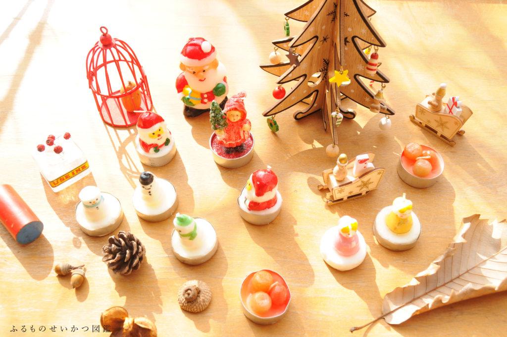 クリスマスキャンドルをリサイクルショップで集める!