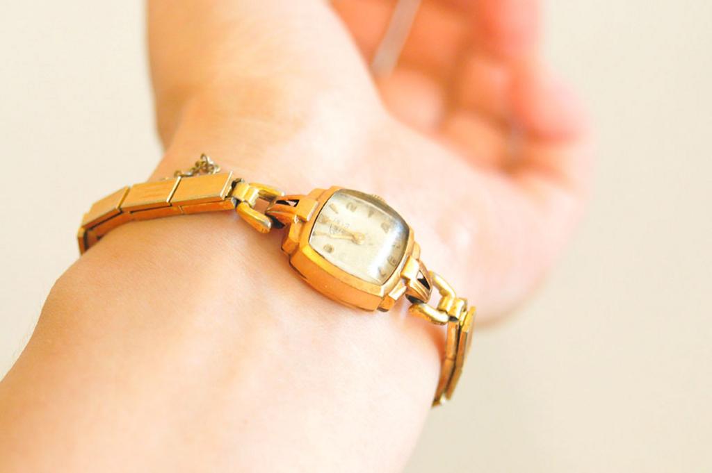 50年前のおしゃれ時計の雰囲気