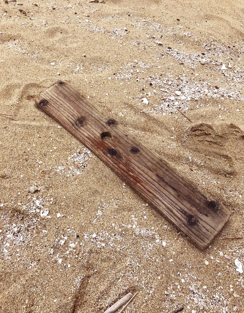 海のゴミだった流板を活用したい-ふるものせいかつ図鑑