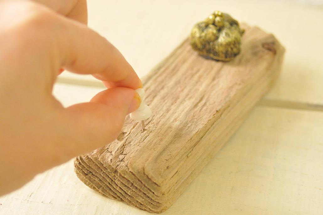 【ゴミDIY】流木と100円雑貨でおしゃれ可愛いシンプル壁掛けフック