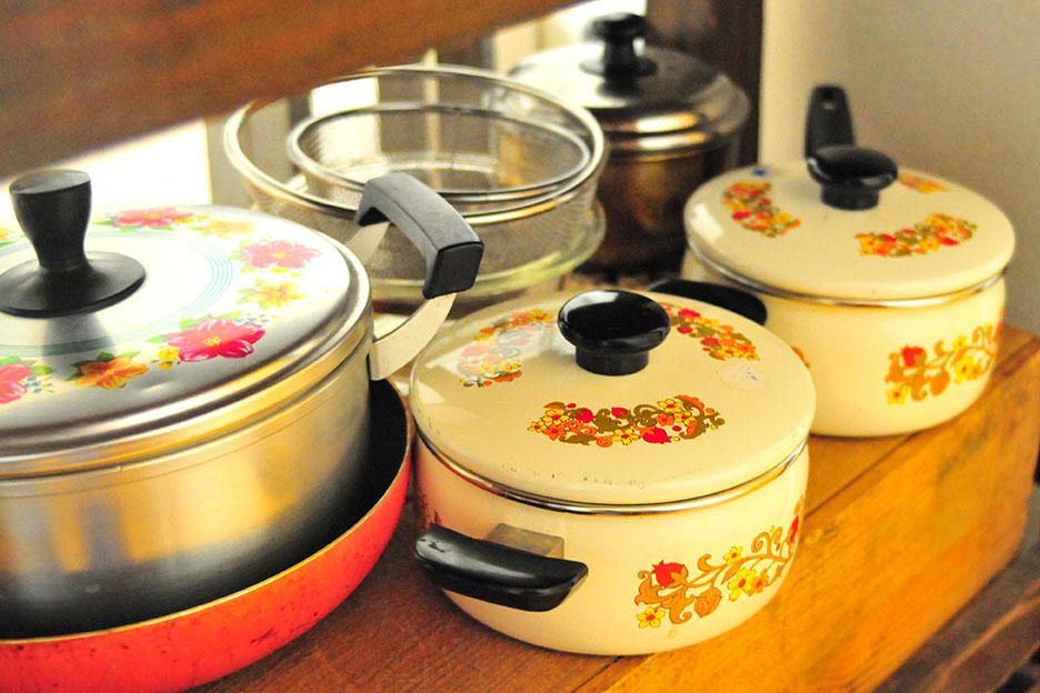 リサイクルショップで購入するレトロ鍋は安くて、おしゃれで、可愛い