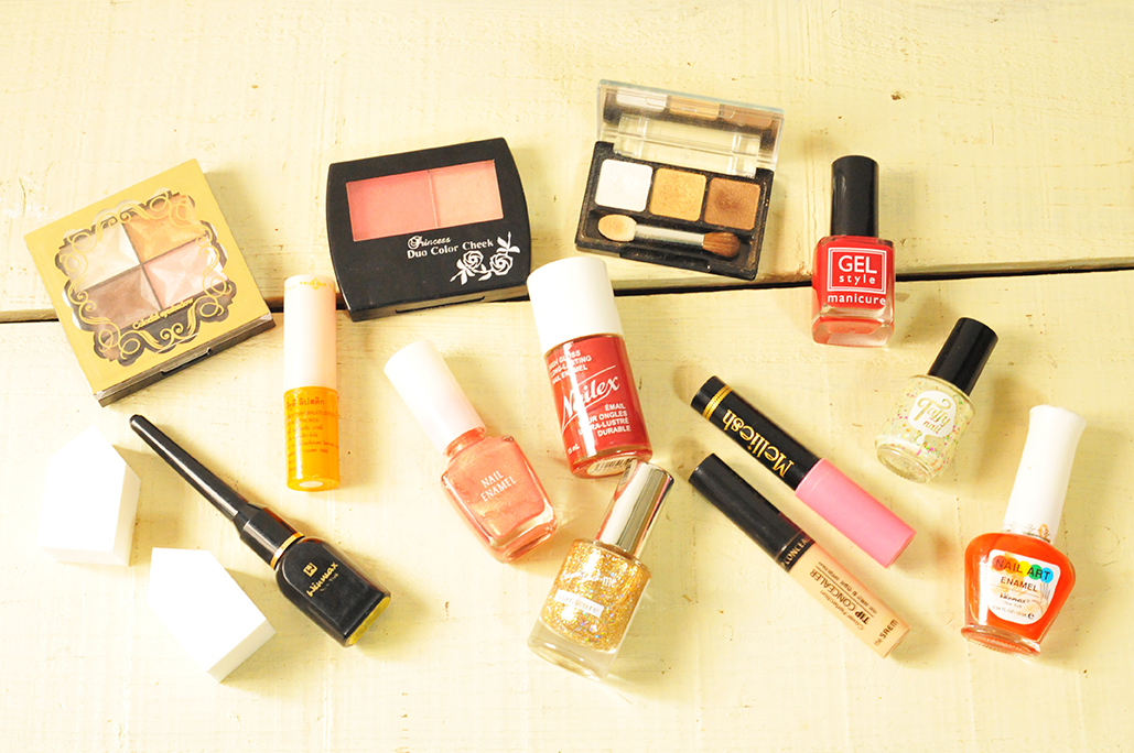 使わなくなった色とりどりの化粧品を雑貨作りに活用してみよう!