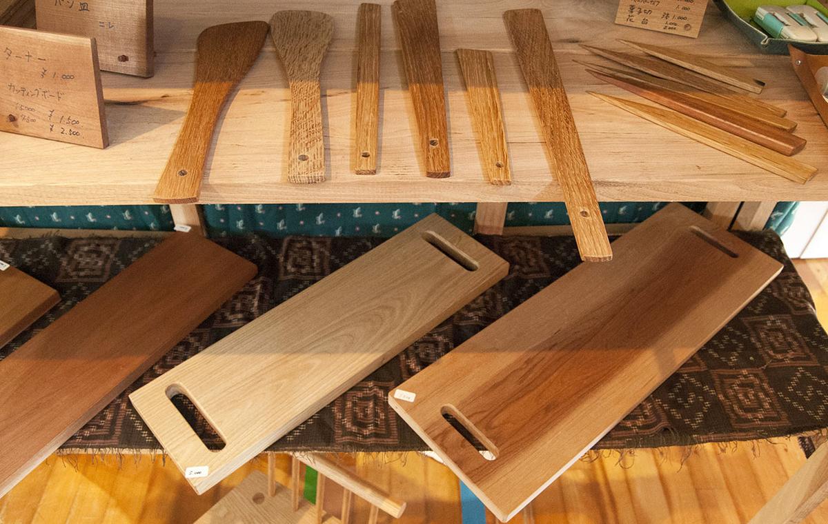 阿蘇アート&クラフトフェアに出展している木工作家の美しい作品たち